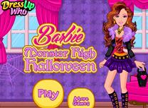Barbie Halloween la Monster High