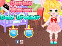 Barbie Isi Intampina Fratiorul