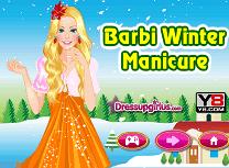 Barbie Manichiura de Iarna