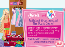 Barbie Moda din Jurul Lumii