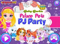 Barbie Petrecere in Pijamale cu Aimalele