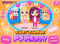 Barbie Petrecere in Pijamale