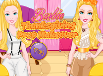 Barbie Pregatiri de Ziua Recunostintei