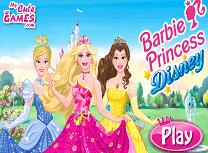Barbie Printesa Disney