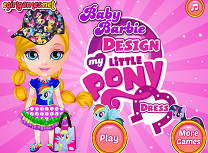 Barbie Rochie My Little Pony