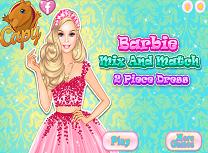 Barbie Rochie din Doua Parti