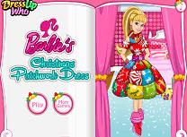 Barbie Rochita de Craciun