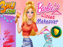 Barbie Schimbari in Garderoba