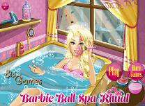 Barbie Spa Inainte de Bal