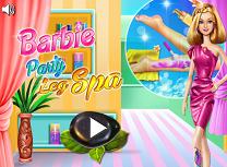 Barbie Spa Pentru Picioare