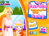 Barbie Spala Hainele Bebelusului
