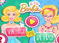 Barbie Tinuta Vintage si Retro