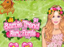 Barbie Tinuta cu Flori