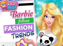 Barbie Urmeaza Ultimele Trenduri