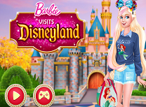 Barbie Viziteaza Disneyland