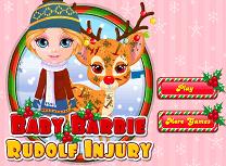 Barbie Are Grija de Rudolf