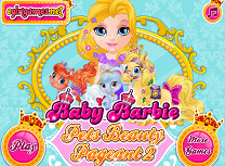 Barbie cu Animalele la Concurs de Frumusete