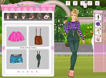 Barbie in Gradina