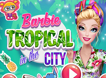 Barbie in Orasul Tropical