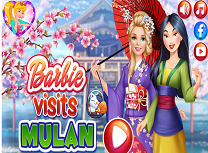 Barbie in Vizita la Mulan