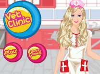 Barbie la Clinica de Animale