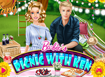 Barbie la Picnic cu Ken