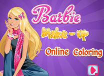 Barbie la Salon de Colorat