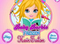 Barbie la Salonul Fronzen