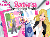 Barbie pe Instragram
