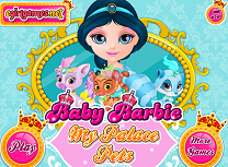 Barbie si Animalele de la Palat
