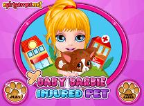Barbie si Animalul Ranit