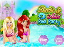 Barbie si Ariel La Piscina