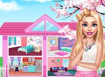 Barbie si Casuta Roz