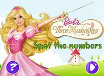 Barbie si Cei Trei Muschetari Numere Ascunse