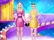 Barbie si Elsa Super Modele