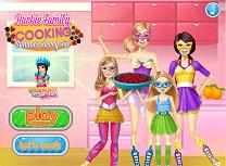 Barbie si Familia Gateste Placinta