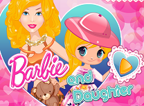 Barbie si Fiica Ei la Moda