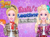 Barbie si Geaca de Piele
