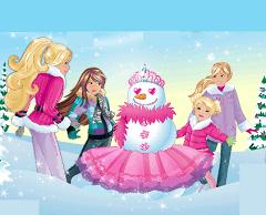 Barbie si Omul de Zapada