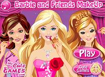 Barbie si Prietenele Machiaj