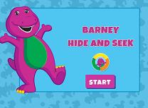 Barney De-a V-ati Ascunselea