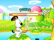 Baschet cu Snoopy