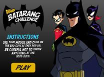 Batman Provocare cu Batarangul