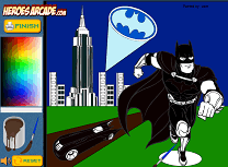 Batman de Colorat