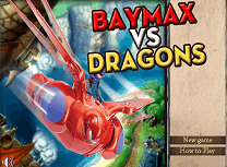 Baymax Vs Dragoni