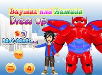 Baymax si Hamada de Imbracat