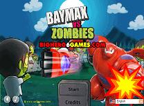 Baymax vs Zombi