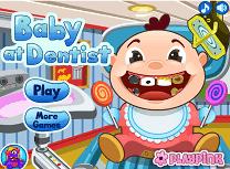 Bebelus la Dentist