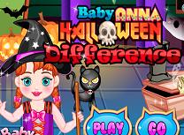 Bebelusa Anna Diferente de Halloween