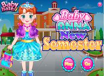 Bebelusa Anna un Nou Semestru